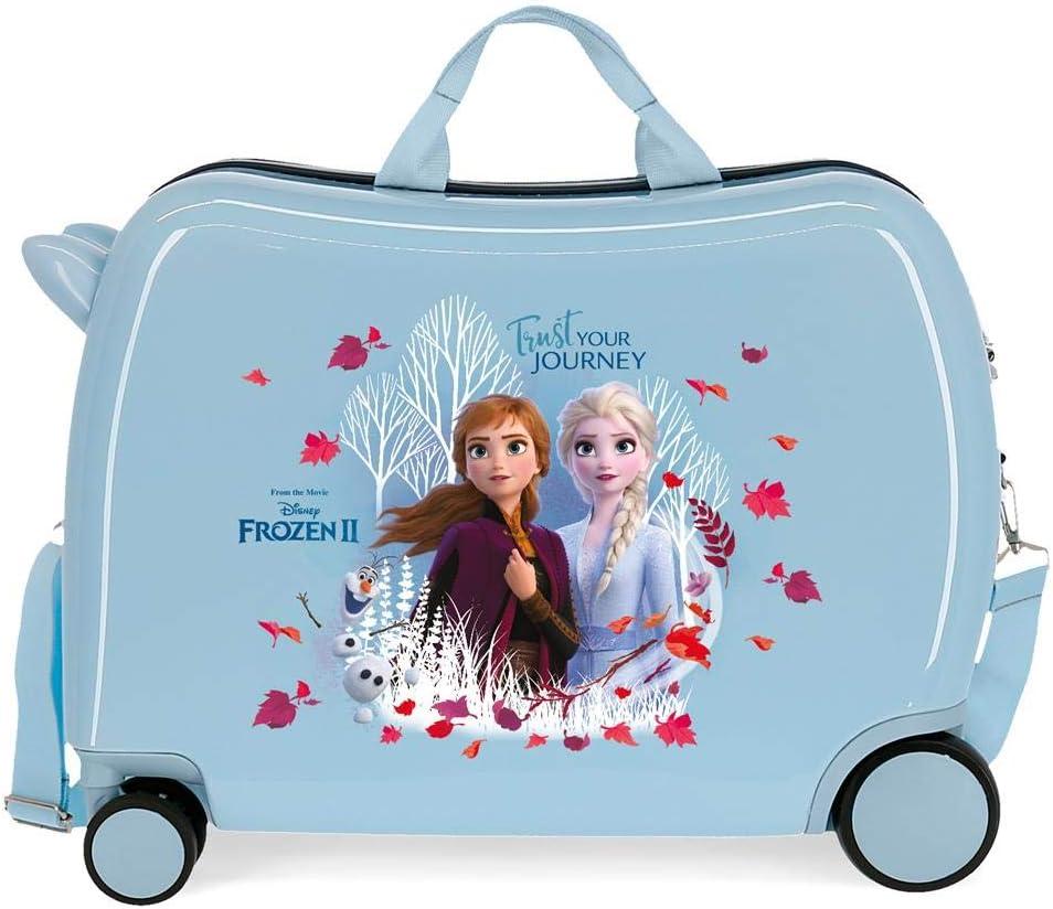 Maleta infantil Trust your journey con ruedas multidireccionales Frozen II