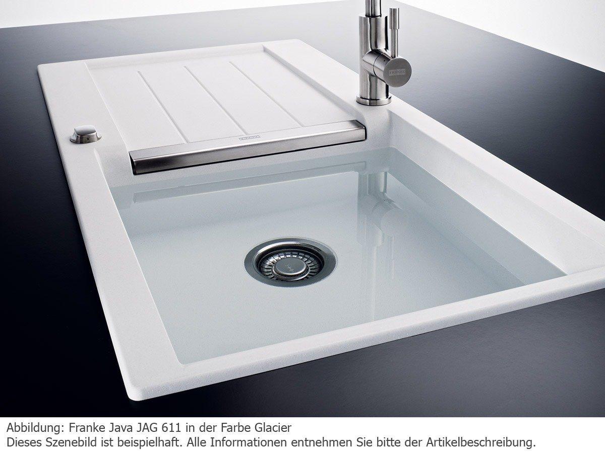 Franke Java JAG 611 Beige Granit-Spüle Küchenspüle Auflagespüle ...