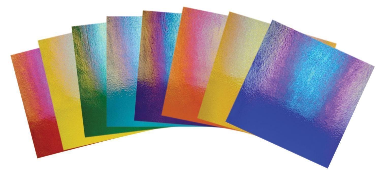 Bullseye Thin Iridescent Jewel Tones Glass Pack - 90 Coe by Delphi Glass (Image #2)