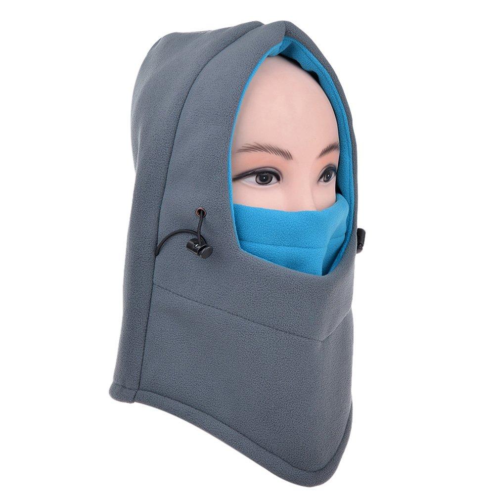 Vbiger Windmask Sturmhaube Winter Gesichtsmaske Snowboard Maske Skimaske Gesichtsmaske für Fahrradfahren Skifahren Motorradfahren mit Fleecefutter