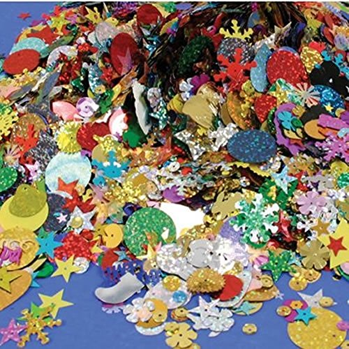 OZXCHIXU (TM) 100g Mixed Sequins and Spangles