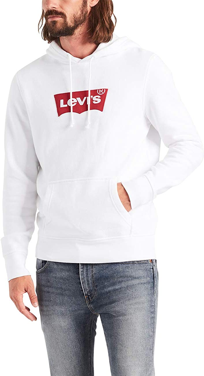 Levis Hoodie Mens White Cheaper Than Retail Price Buy Clothing Accessories And Lifestyle Products For Women Men [ 1300 x 709 Pixel ]