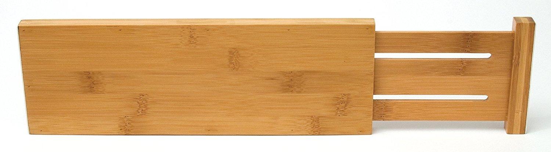 Lipper International 8895 Bamboo Dresser Drawer Dividers, Set of 2 Pack-2