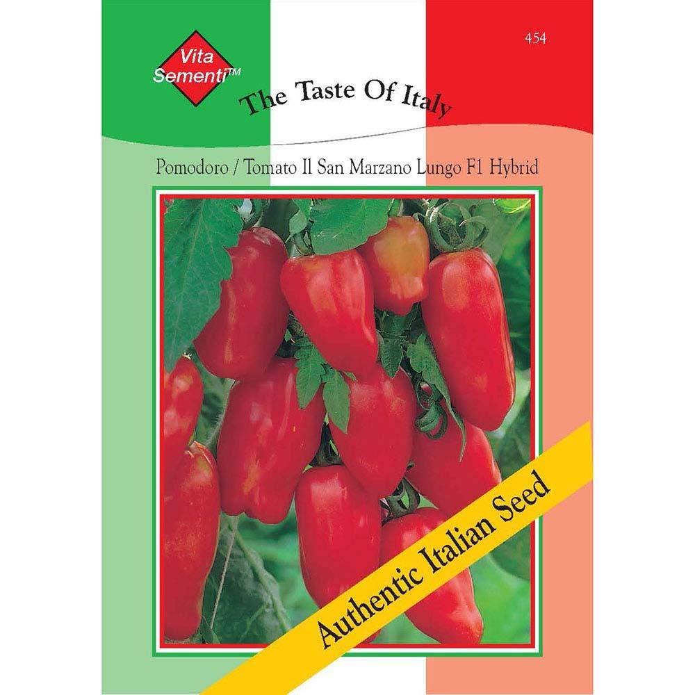 GIFT SEEDS SAN MARZANO LUNGO tomato HEIRLOOM ORGANIC 20 seeds