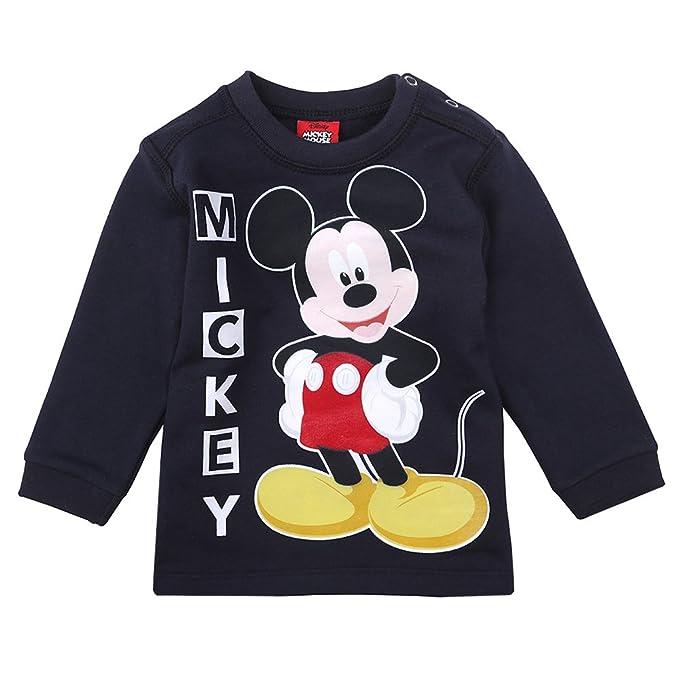 Disney Niños Mickey Mouse Sudadera, Azul Oscuro, Talla 92, 2 Años: Amazon.es: Ropa y accesorios