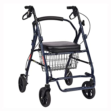 ZXQ-LR Marcos para Caminar Ayuda de Movilidad for Caminar Plegable ...