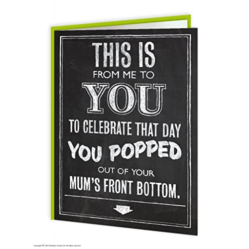 Rude Birthday Card Amazon