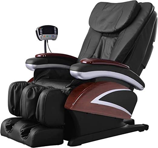 Full Body Electric Shiatsu Massage Chair Recliner with Built in Heat Therapy Air Massage System Stretch Vibrating for Home Office Living Room