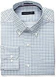Tommy Hilfiger Men's Non Iron Regular Fit Small Tattersall Bd Collar Dress Shirt