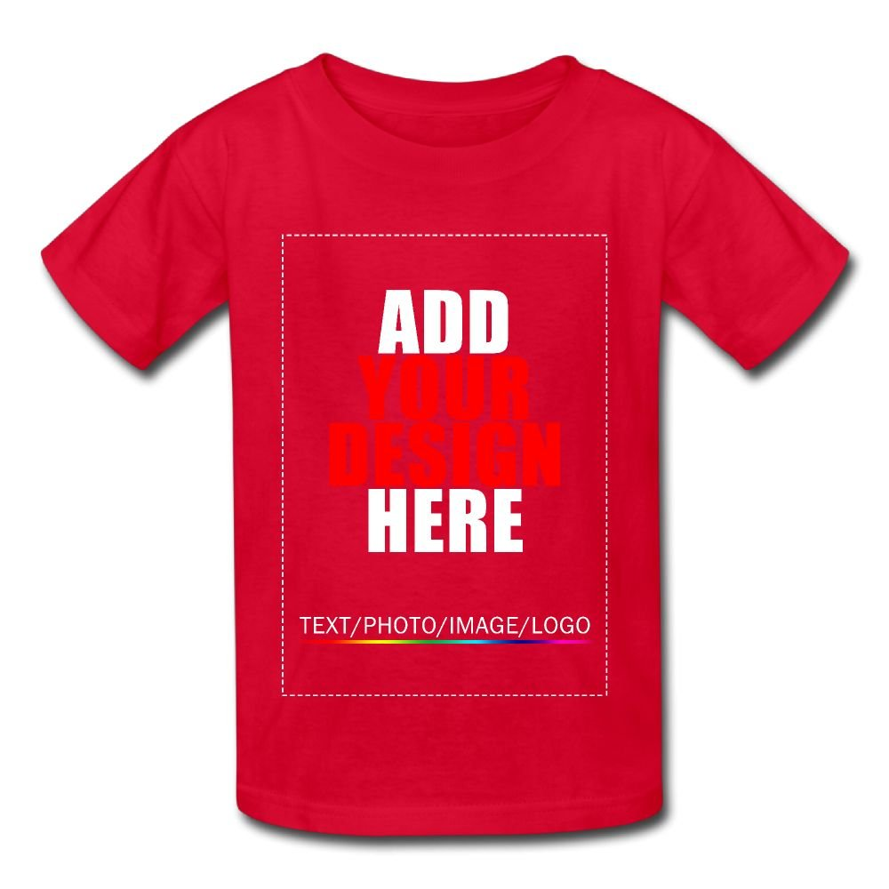 Design Your Own Shirt WorldMall Customized Babys T-shirt Tee Add Your Image Text