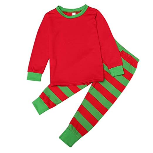 262a639d8371 Amazon.com  Family Matching Stripe Pajamas Sets for The Whole Family ...