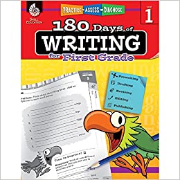 amazon com 180 days of writing for first grade an easy to use