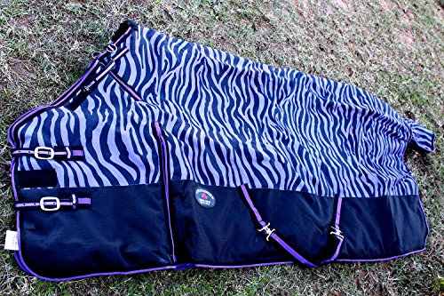 """Used, CHALLENGER 78"""" 1200D Turnout Waterproof Horse Tough for sale  Delivered anywhere in USA"""