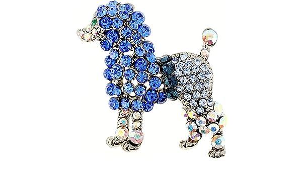 Fantasyard Dalmatian Dog Crystal Pin Brooch