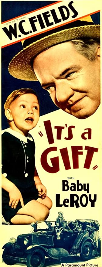 Posterazzi It S A Gift From Left Ba Print By Leroy W C Fields 1934 Movie Poster Masterprint 24 X 36 Posters Prints