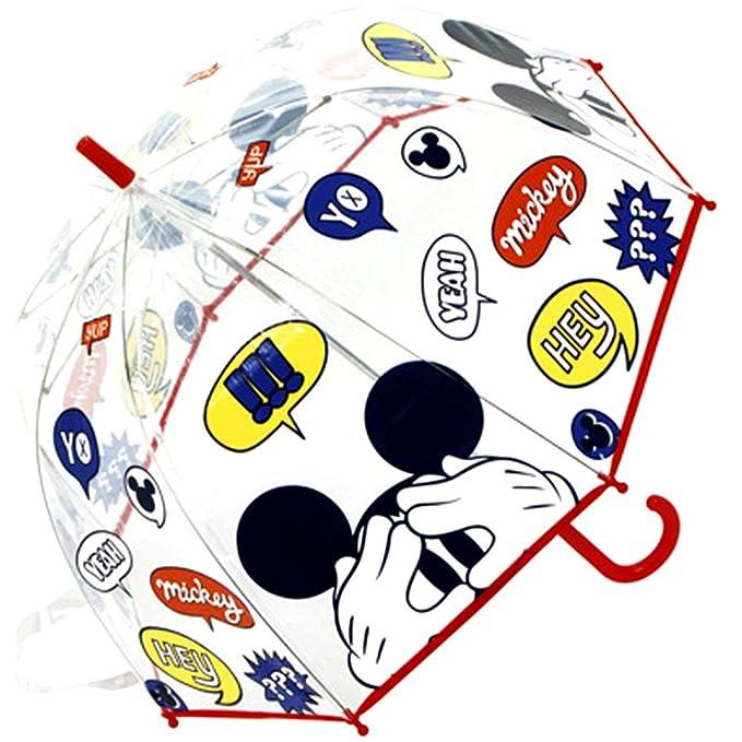 Paraguas Cúpula Transparente Manual Paraguas Infantil Paraguas ...