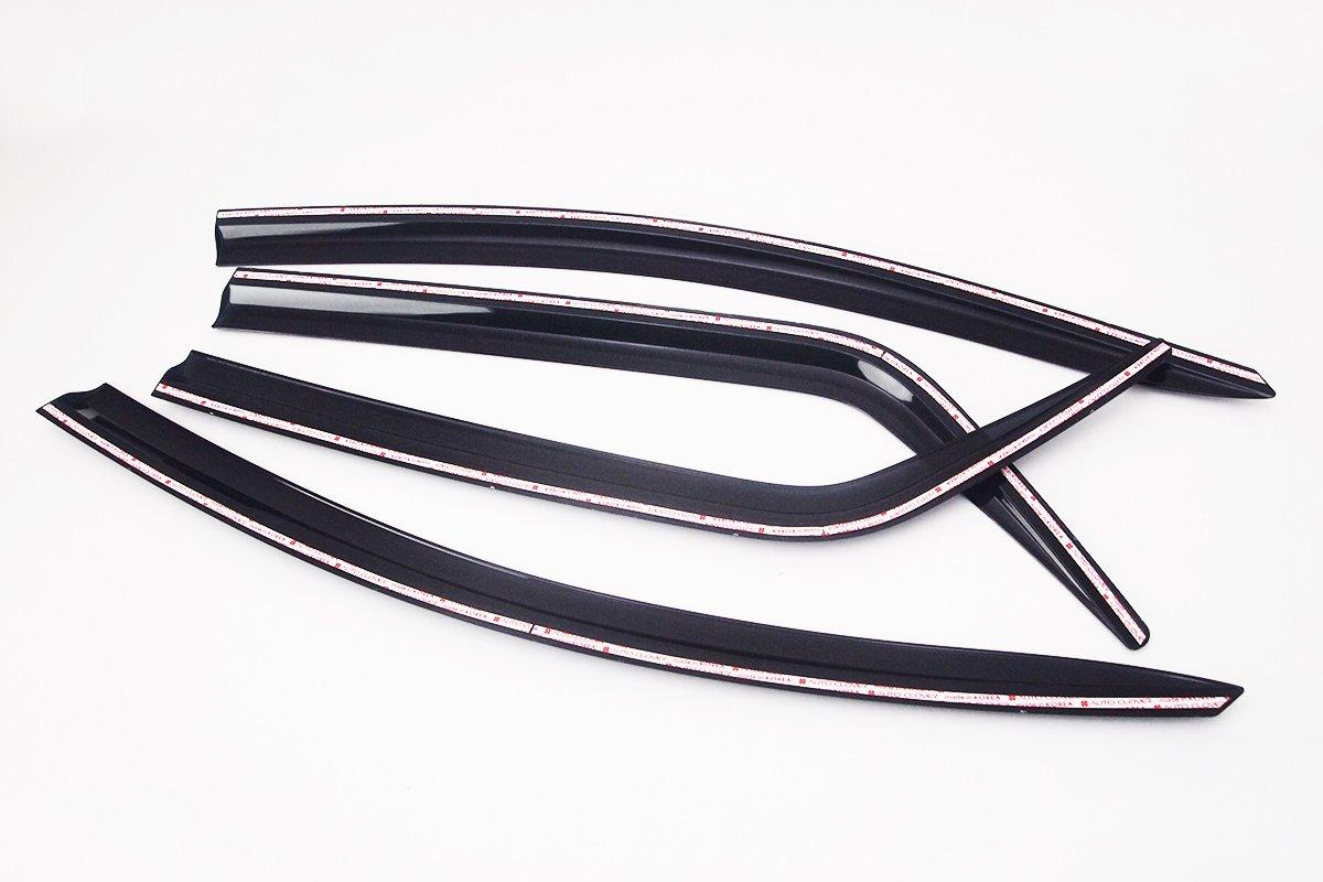 Fum/é Autoclover Jeu de 4 d/éflecteurs dair pour Ford Ecosport