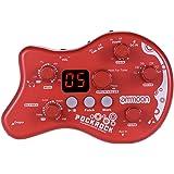ammoon PockRock Guitar Pedal Portable Multi-effects Processor Effect Pedal 15 Effect Types 40 Drum Rhythms Tuning…