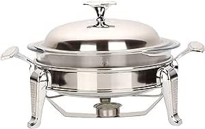 Stainless Steel Food Warmer 2 Liter , Silver