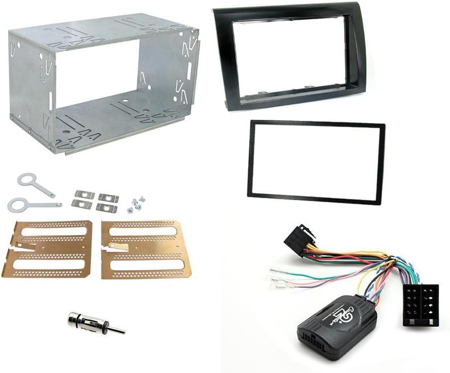 Kit installazione 2 din Fiat Bravo Completo di interfaccia comandi al volante