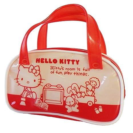 2ed363298 Amazon.com : Sunstar Hello Kitty Land Boston Bag Pen Case S1410784 ...
