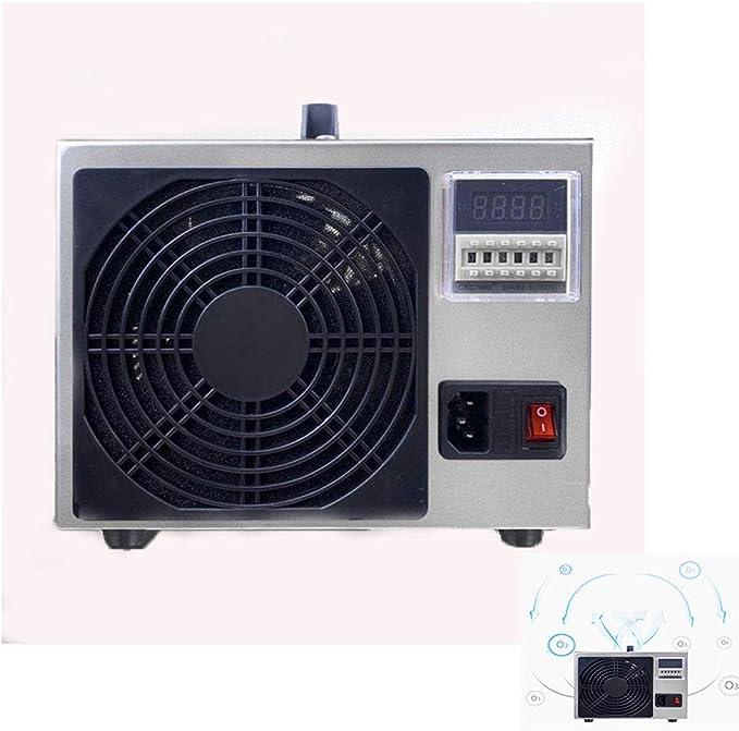 Generadores De Ozono, Purificador De Agua Portátil 360 ° Desinfección Y Esterilización Sin Ángulo Muerto Purificador De Aire Para Purificadores De Aire De Tratamiento De Aguas Residuales Comerciales: Amazon.es: Hogar