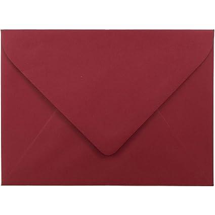 amazon com jam paper a7 invitation envelopes with euro flap 5 1