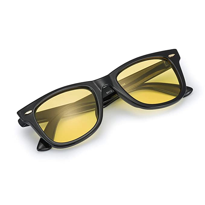 f9693b4f55 Myiaur Night Vision Glasses for Driving for Women Yellow Lens Anti-glare  Cloudy Rainy
