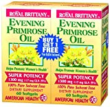 Cheap American Health Dietary Fiber Supplements, Royal Brittany Evening Primrose Oil, 120 Count