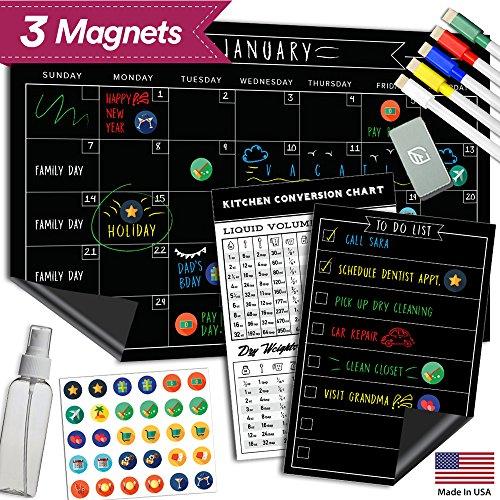 Magnetic Dry Erase Refrigerator Calendar product image