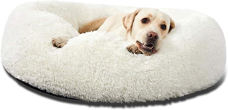 Hachikitty Dog Beds Calming Donut Cuddler Puppy Dog Beds Large Dogs Indoor Dog Calming Beds Large 30 Kitchen Dining