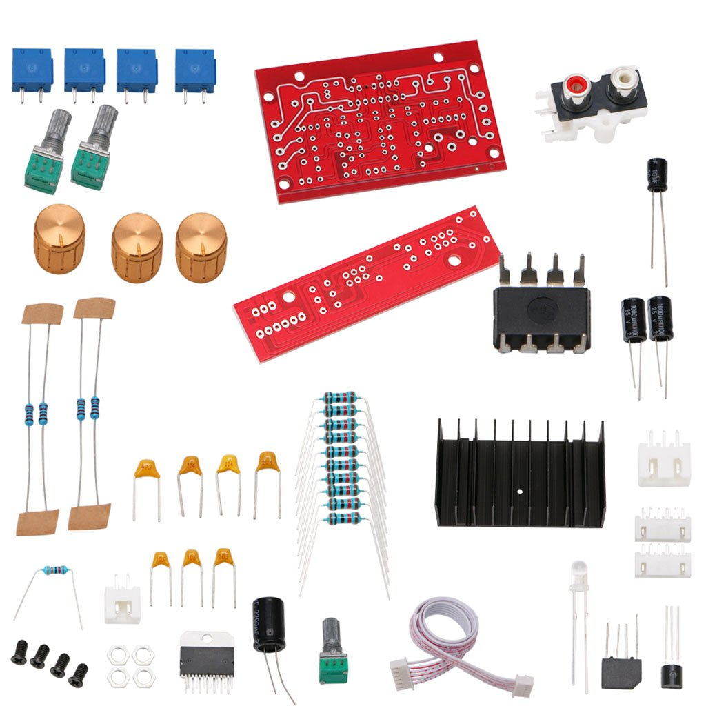 Kangnice Tda7377 Power Amplifier 21 Diy Kit 3 Channel Channels Subwoofer Stereo Audio Circuit Board Sound Amp 12 18v Dc Home Theater