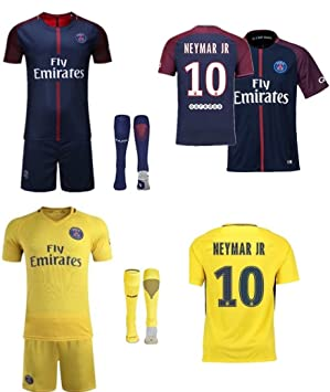 new concept 1b4d7 14615 PSG 2017/18 HOME AND AWAY** REPLICA **KITS NEYMAR Jr