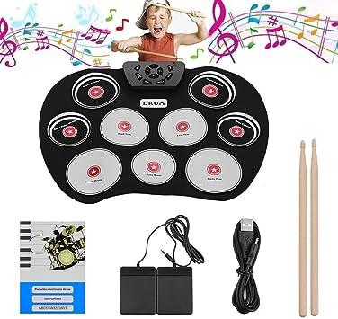 g 600 tragbare elektronische Trommel Roll-up-Kit Trommel für