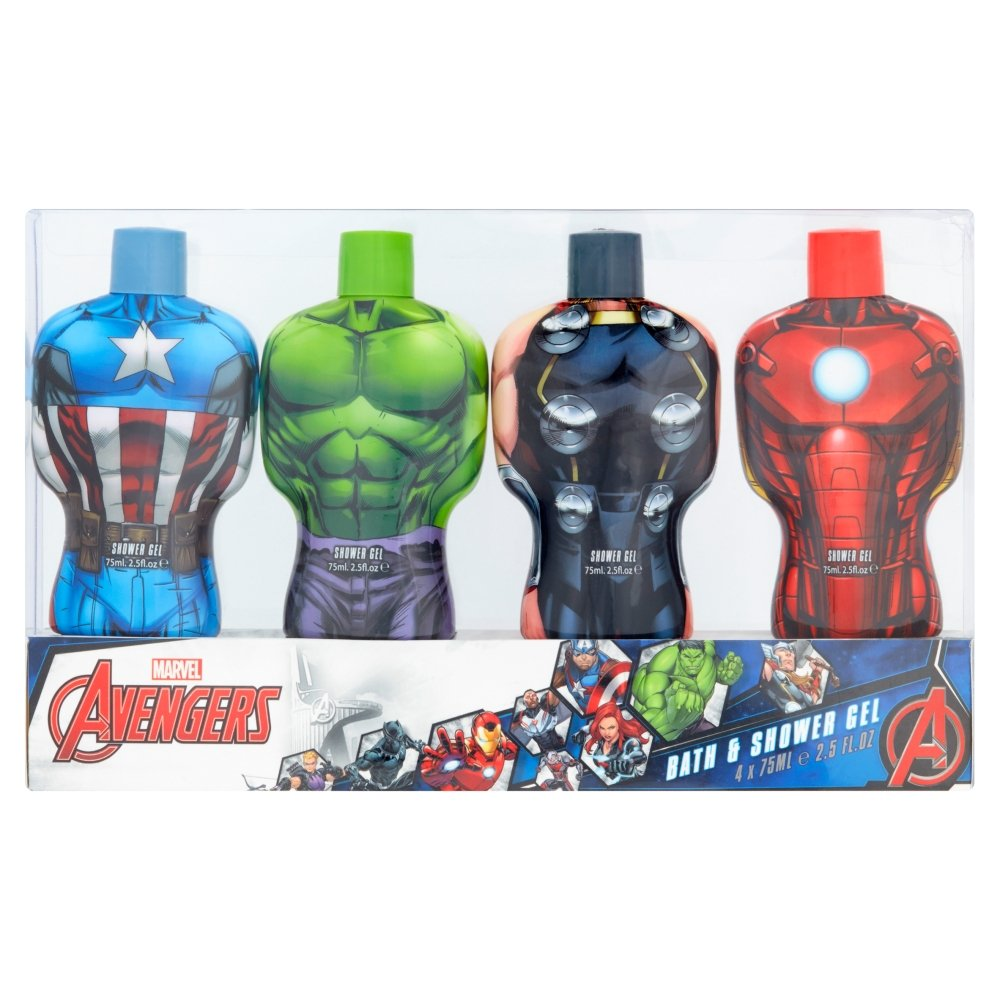 Marvel de Los Vengadores Bubble Bath Travel Pack Corsair Toiletries Ltd MC3493