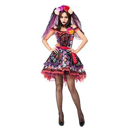 Disfraz Halloween Mujer Niña Adulto Plus Size Vestido De ...