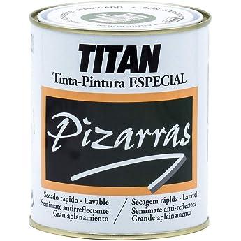 Titan 01B180134 - Pintura para pizarras NEGRO Titan 750 ml: Amazon.es: Bricolaje y herramientas