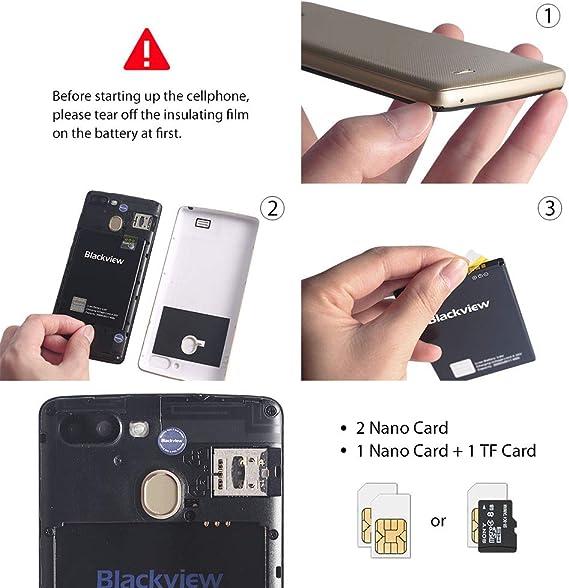 Blackview A20 Pro (2018) Smartphone Libre de 5.5