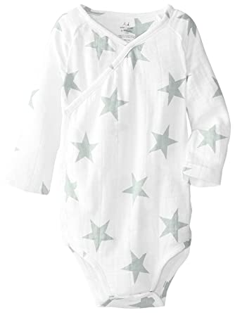 Amazon Com Aden Anais Baby Boys Newborn Muslin Long Sleeve Kimono