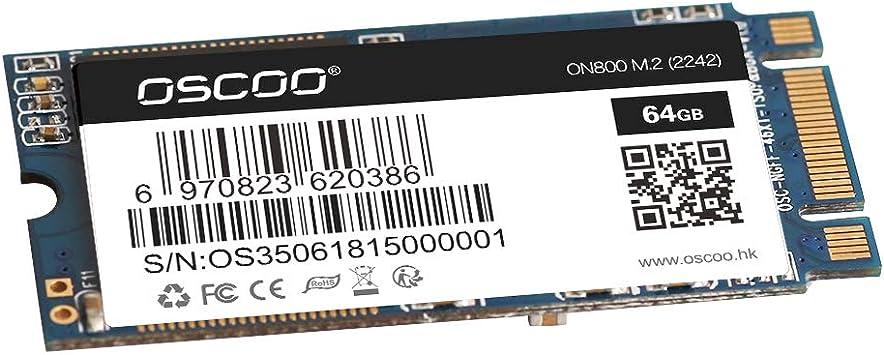 Docooler OSCOO NGFF/M.2 2242 Disco SSD portátil de Estado ...