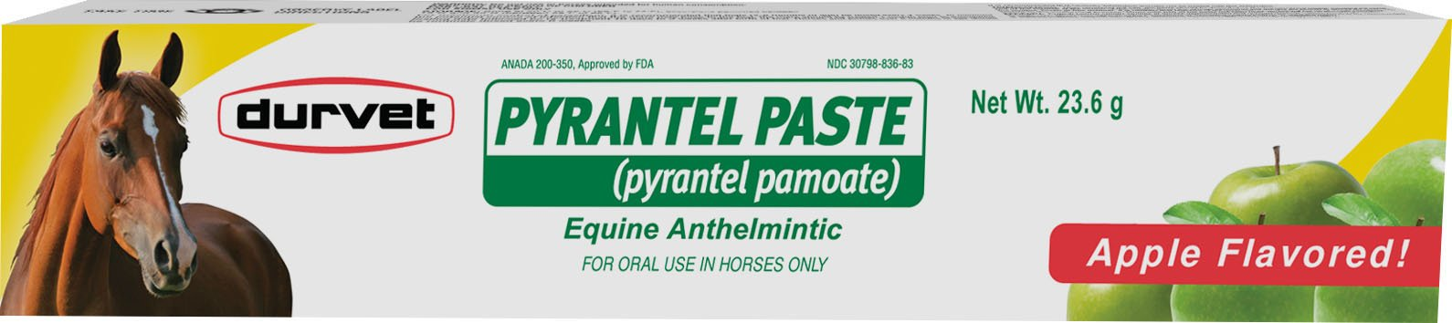 Durvet Pyrantel Paste Wormer, 23.6gm by Durvet