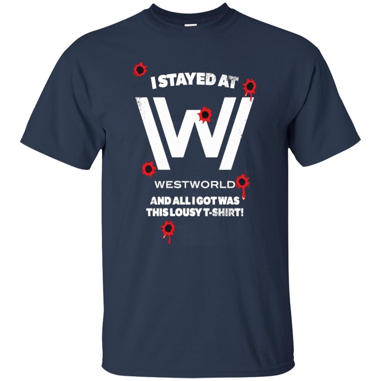 I Stayed At - Westworld Men T-Shirt
