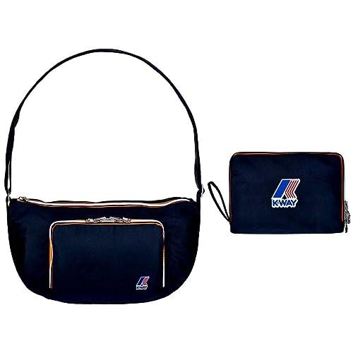 cb41903787ee Borsa Donna K-Way Bag Woman Big Crossover K-Fold 5BKK1522-Blu  Amazon.it   Scarpe e borse