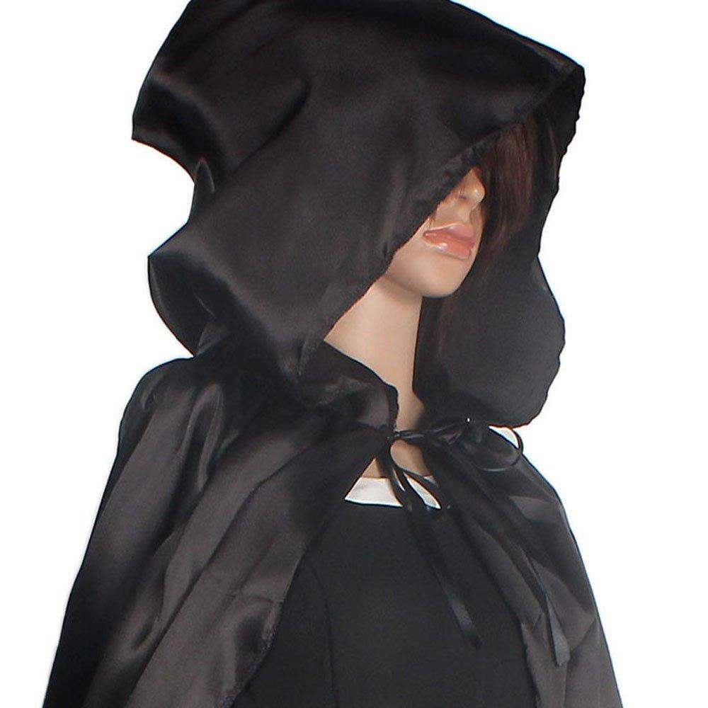 Luckycat Abrigo con Capucha Abrigo Wicca Robe Medieval Cape Shawl Fiesta de Halloween S/M / L/XL: Amazon.es: Ropa y accesorios