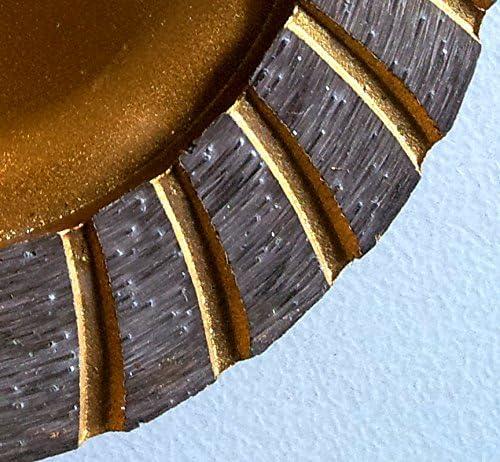 Diamant meule Assiette Disques abrasifs /Ø 230/mm Trou 22,23/mm 7/mm /à dents Turbo