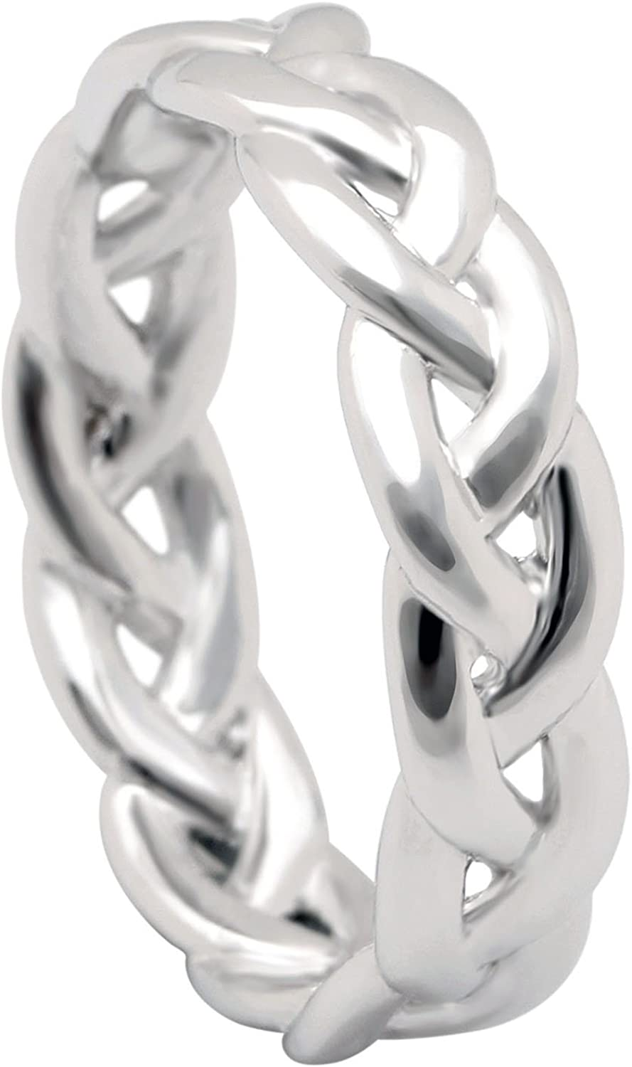 Ginger Lyne Collection Belinda Infinity Twisted Anniversary Wedding Band Ring