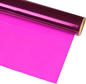 Hygloss Products, Inc Roll Cellophane Wrap for Crafts, Gifts, and Baskets 40 Inch x 100 Feet, 40-inches x 100-feet, Purple