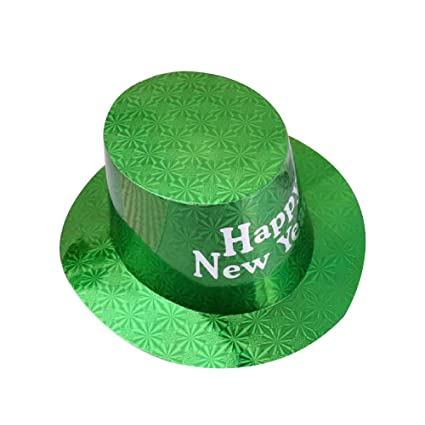 Amazon.com: HAPPY - Sombreros de papel para fiestas de Año ...