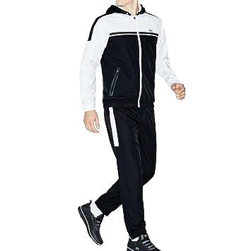 shoes for cheap cheap price cheap Lacoste Survêtement de tennis / sport pour homme, Noir/blanc ...
