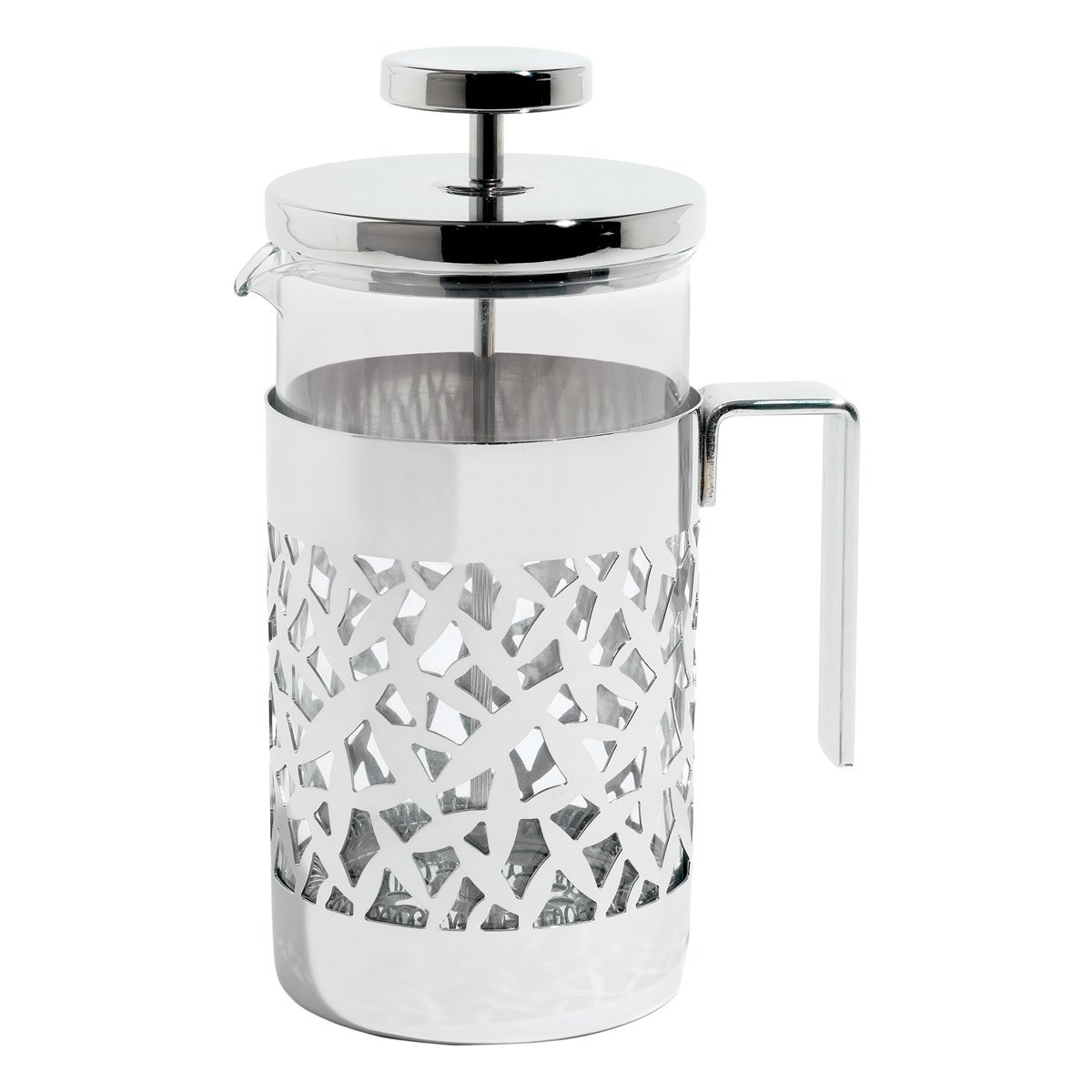 Acquisto Alessi – MSA12/8 – CACTUS! Caffettiera a presso-filtro o infusiera in acciaio inossidabile 18/10 lucido e vetro pirofilo. Prezzi offerta